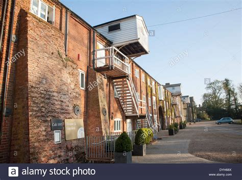 nineteenth century industrial buildings converted to leisure stock photo royalty free image