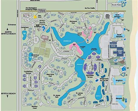 myrtle florida map kingston plantation property layout myrtle map