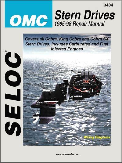 marine repair shop laurie mo omc stern drive repair manual ford gm engines 1986 1998