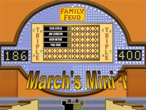 Family Feud Powerpoint Template Classroom Game This Classroom Family Feud