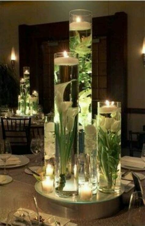 How To Make Flowers Float In Vases by Floating Flowers In Vase Craft Ideas