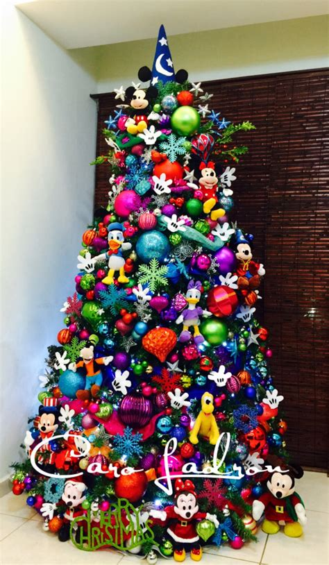19 most creative kids christmas trees mickey mouse