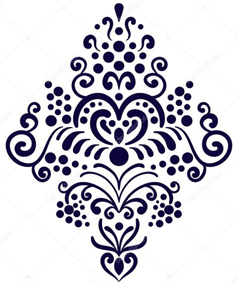 pattern is any decorative motif or design decorative border element old style wallpaper pattern