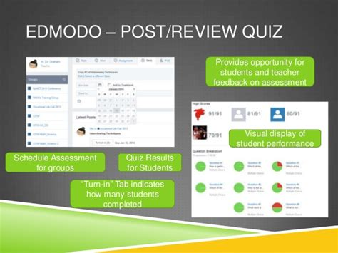 edmodo online quiz free online assessment tools to prepare students for parcc