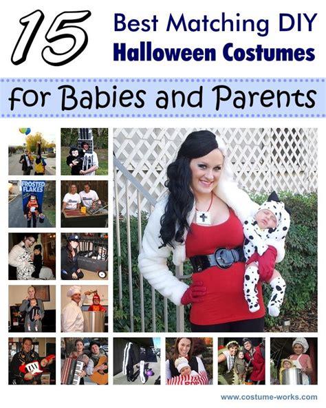 matching diy costumes  babies  parents diy