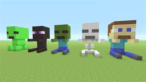 when was minecraft made minecraft tutorial how to make baby minecraft mob statues