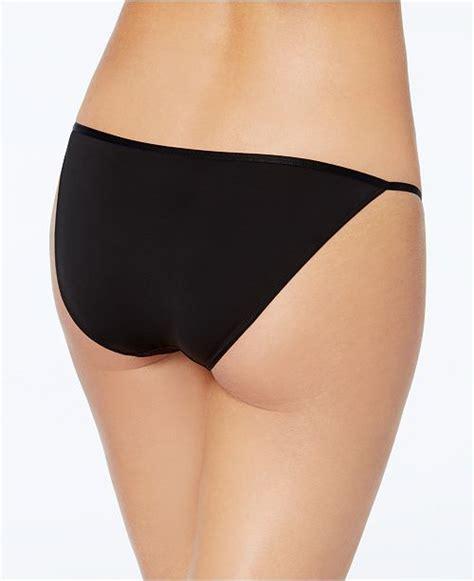 calvin klein sleek string bikini  reviews bras