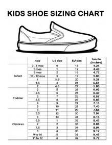 Shoe size chart charts and kid shoes on pinterest