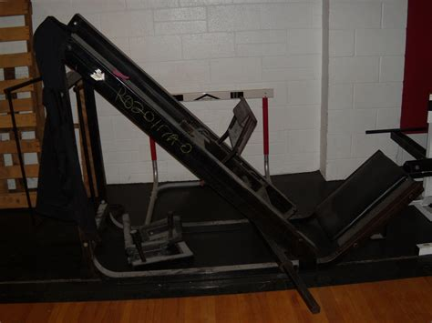 Incline Leg Press Sled Weight by Ell Saline Usd 307 Items For Sale