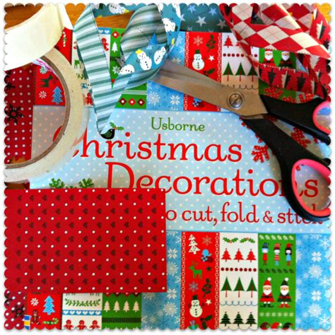 make your own christmas decorations win this great book