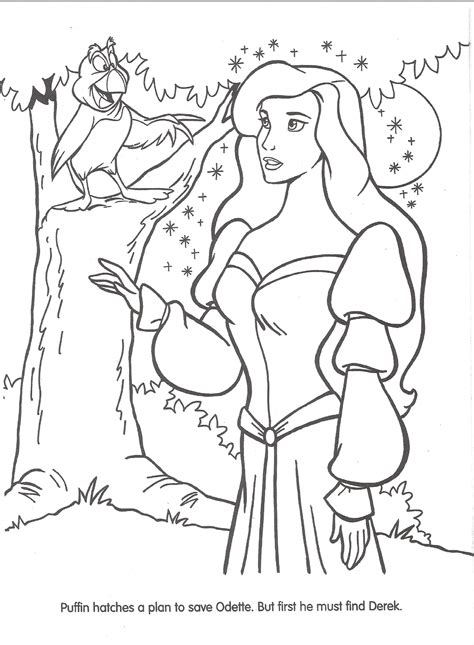 image swan princess official coloring page 19 png
