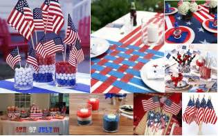 Decorating Ideas For July Fourth Decorations Dishes And Dress For The 4th Of July Chef Vibes
