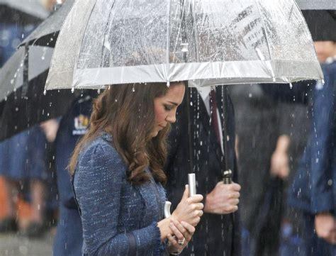 Kate Umbrella kate middleton photos photos the royal visit the new zealand college zimbio