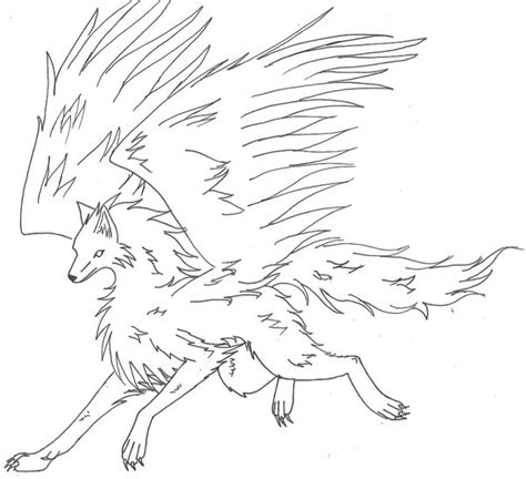 flying wolf coloring page mobile winged wolf coloring pages dragoart coloring pages