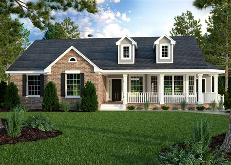 ranch homes designs plan 31093d great little ranch house plan ranch house