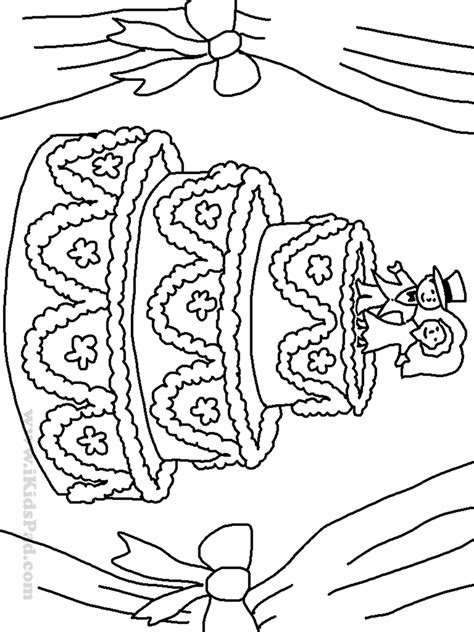 Wedding Cake Coloring Pages Kids Coloring Europe Wedding Coloring Pages To Print