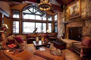 Mountain Home Interior Design by Rustic Mountain Home Interior Design Design Exposedbeam