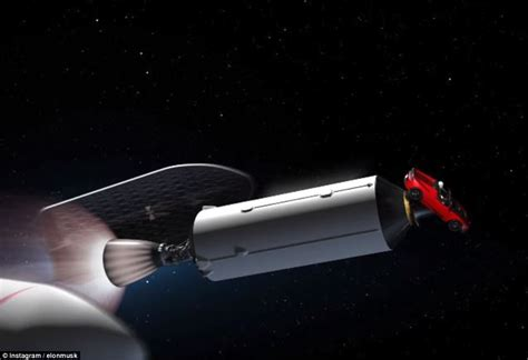 elon musk rocket elon musk releases amazing real time video of falcon heavy
