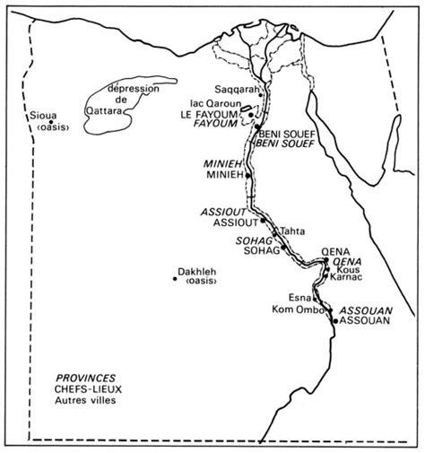 l egypte d aujourd hui l 201 gypte d aujourd hui cartes institut de recherches
