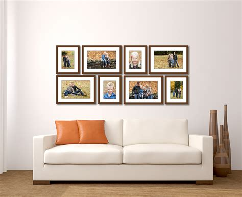 large living room wall gallery jenn di spirito photography