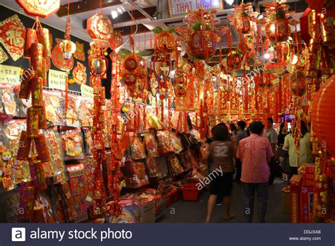 what to do during new year in singapore chinatown in singapore during new year stock photo