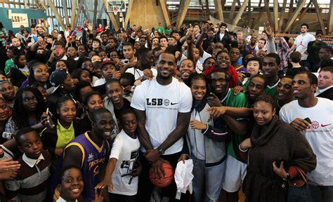 lebron james fan lebron james teams up with morgan spurlock for documentary