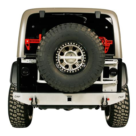 or fab swing away tire carrier or fab 86201bb swing away spare tire carrier 97 06 tj