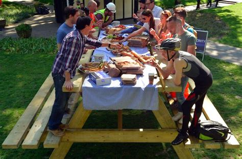 how big is a picnic table picnic lunch tables quot big picnic table quot
