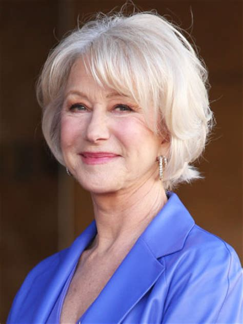 hairstyles helen mirren 9 hairstyles that will make you look 10 years younger