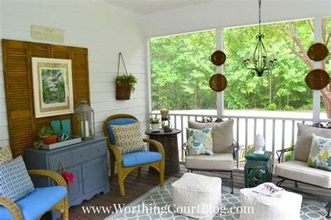porch decor a southern screened porch decor update hometalk