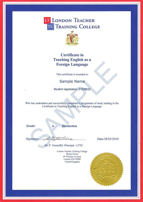 sle certificate in teaching english as a foreign
