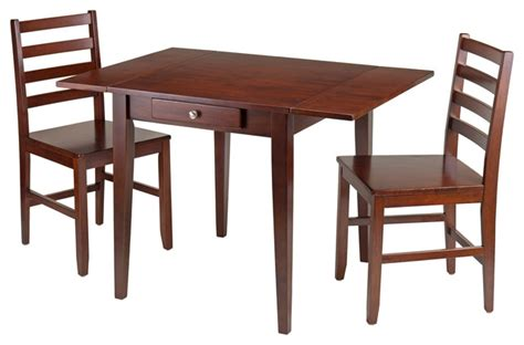 shop houzz winsome 3 pc dining set dining sets