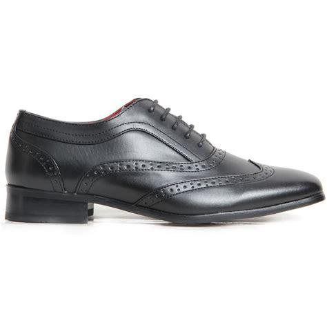 oxford spectator shoes spectator two tone black brown matte wingtip brogue