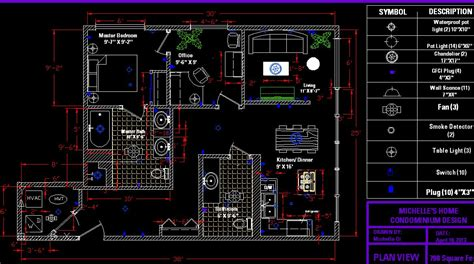 autocad floor plan autocad apartment drawing