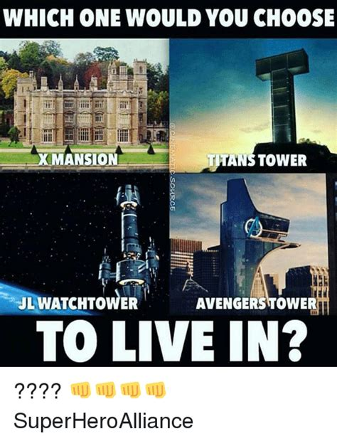 Which Would You Chosen by 25 Best Memes About Tower Tower Memes