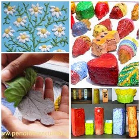 membuat kerajinan dari bubur kertas kerajinan bubur kertas kerajinan baru blogspot com