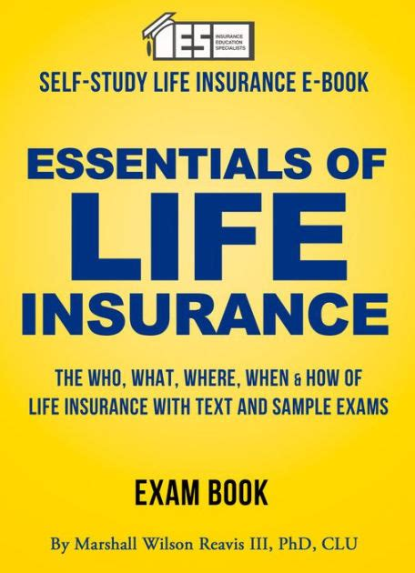 Self Study Mba Books by Essentials Of Insurance A Self Study Manual By