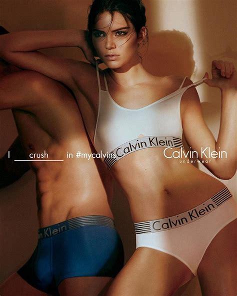 Ck Melanie kendall jenner shares calvin klein ad