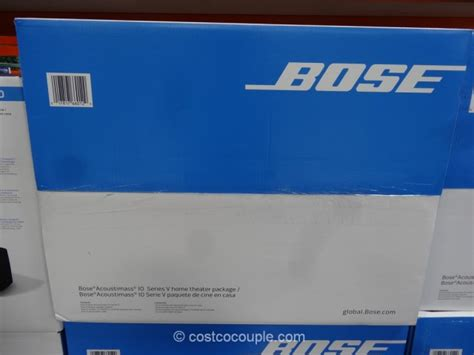 bose acoutimass  home theater system