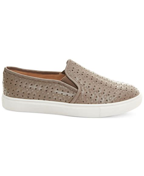 Sneakers Excel lyst steve madden s excel slip on sneakers in