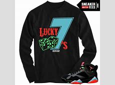 Marvin the Martian 7s matching sneaker tees shirts |Lucky ... Jordan 12 French Blue Shirt