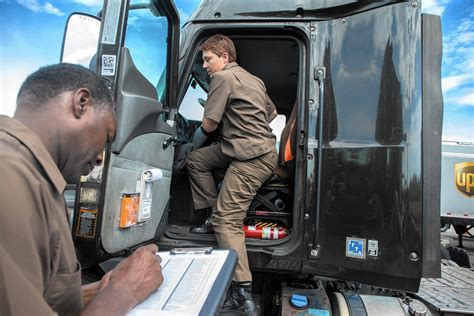 Ups Feeder Driver Description ups south boot c for truck trainers an 3 weeks chicago tribune