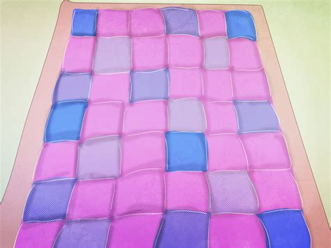 How To Sew A Quilt Together by 3 Ways To Sew A Quilt Wikihow