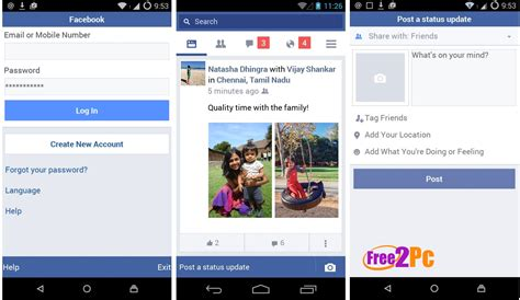 fb lite full version apk facebook android apk 2 3 6 download latest version with