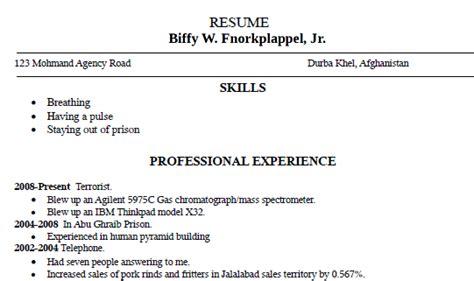 exle of a bad resume parse resume exle 28 images parse resume