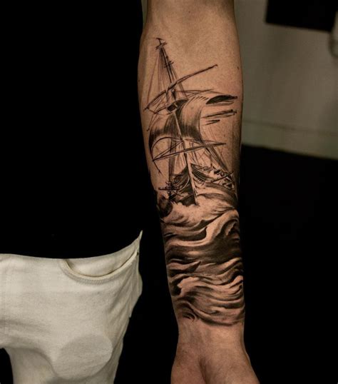 sailing ship maritime sleeve best tattoo ideas amp designs