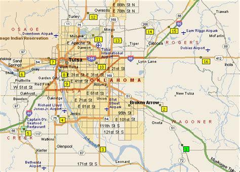 tulsa map maps ride maps tulsa bicycle club