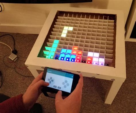 bluetooth controlled arduino led coffee table arduino