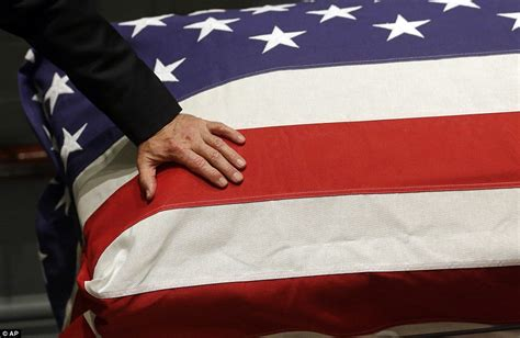 flag draped coffin joe biden s son beau s casket arrives to lie in honor at