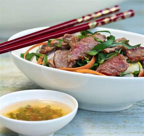 recipe fried calamari salad villeroy boch blog recipe asian beef and bok choy salad villeroy boch blog